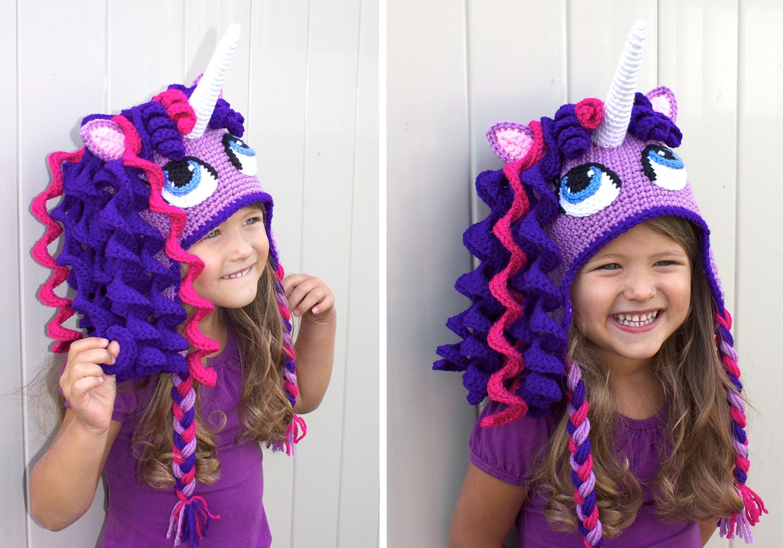 Beautiful Unicorn Hat Costume