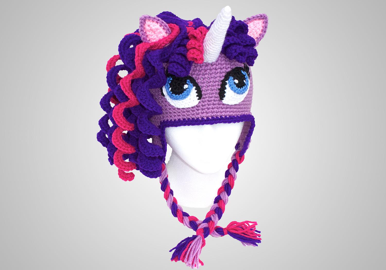 Unique Pony Beanie for Girls