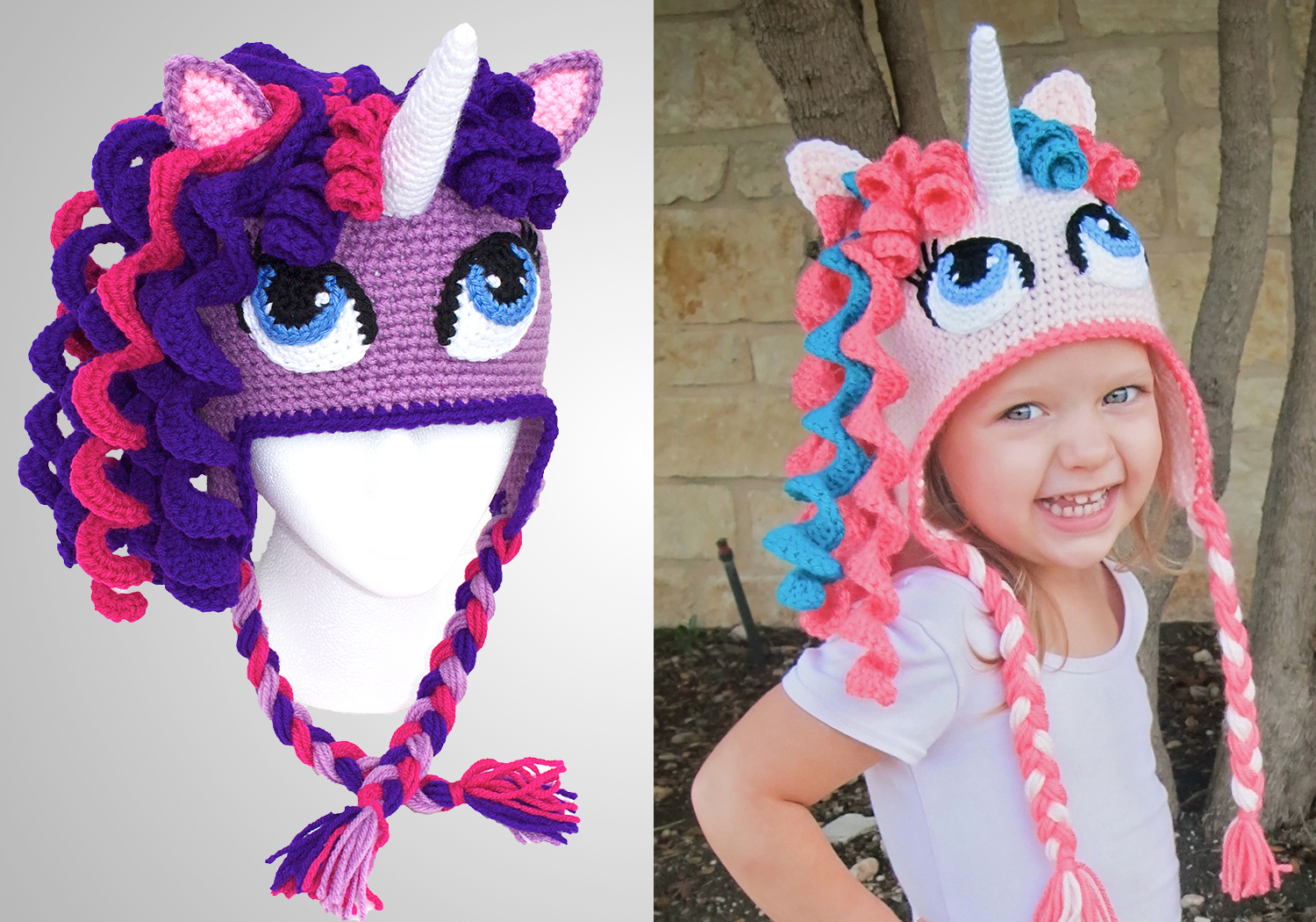 Crochet Unicorn Hat Pattern
