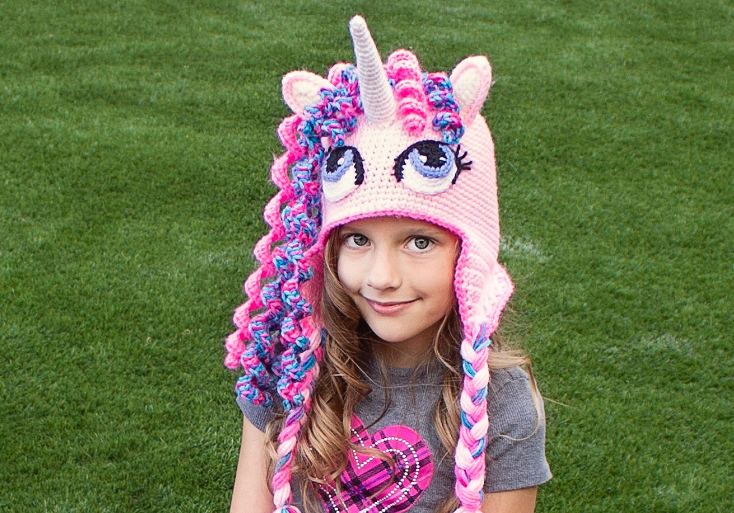 Beautiful Unicorn Crochet Hat Pattern