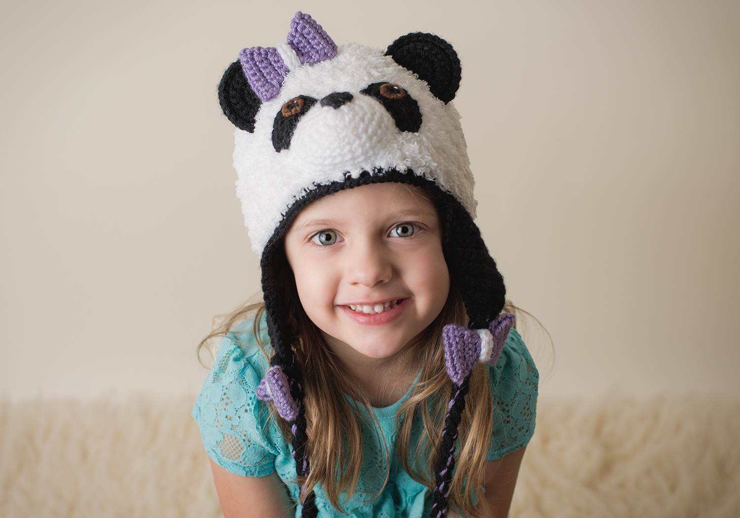 Panda Hat Crochet Pattern