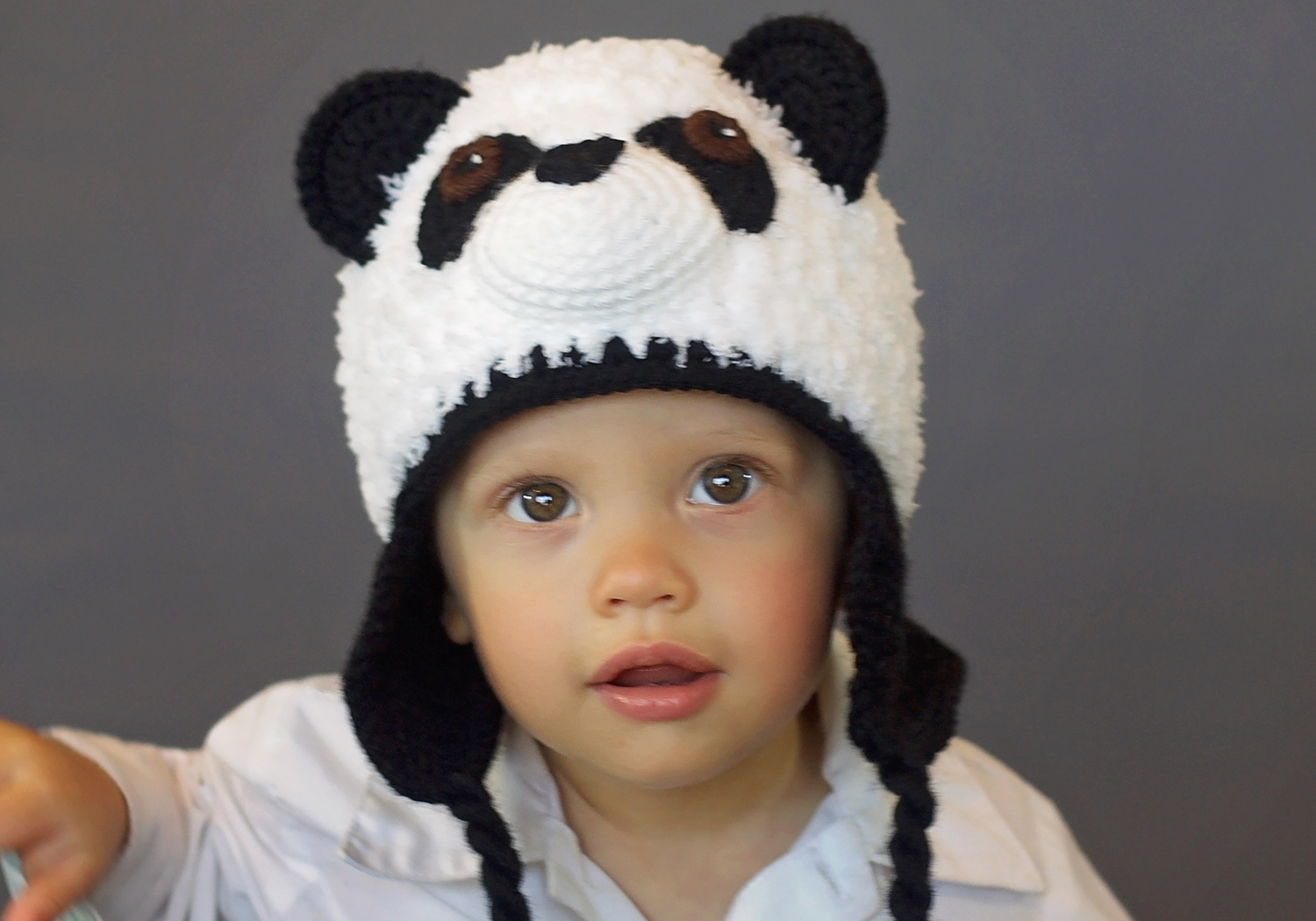 Furry Panda Hat