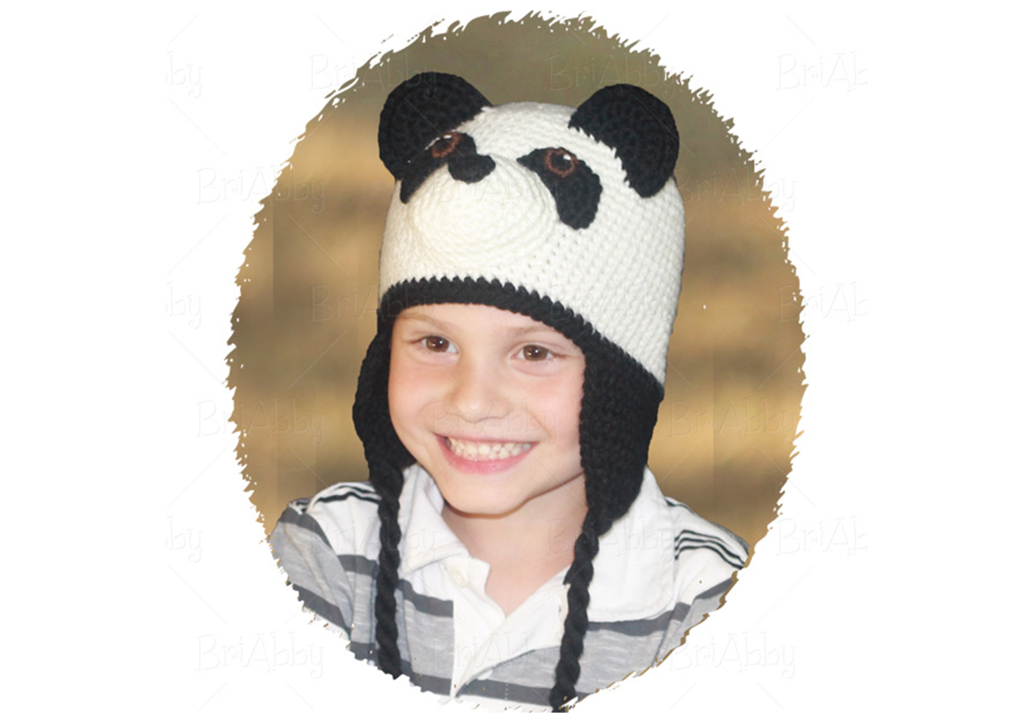 Cute Panda Hat Pattern