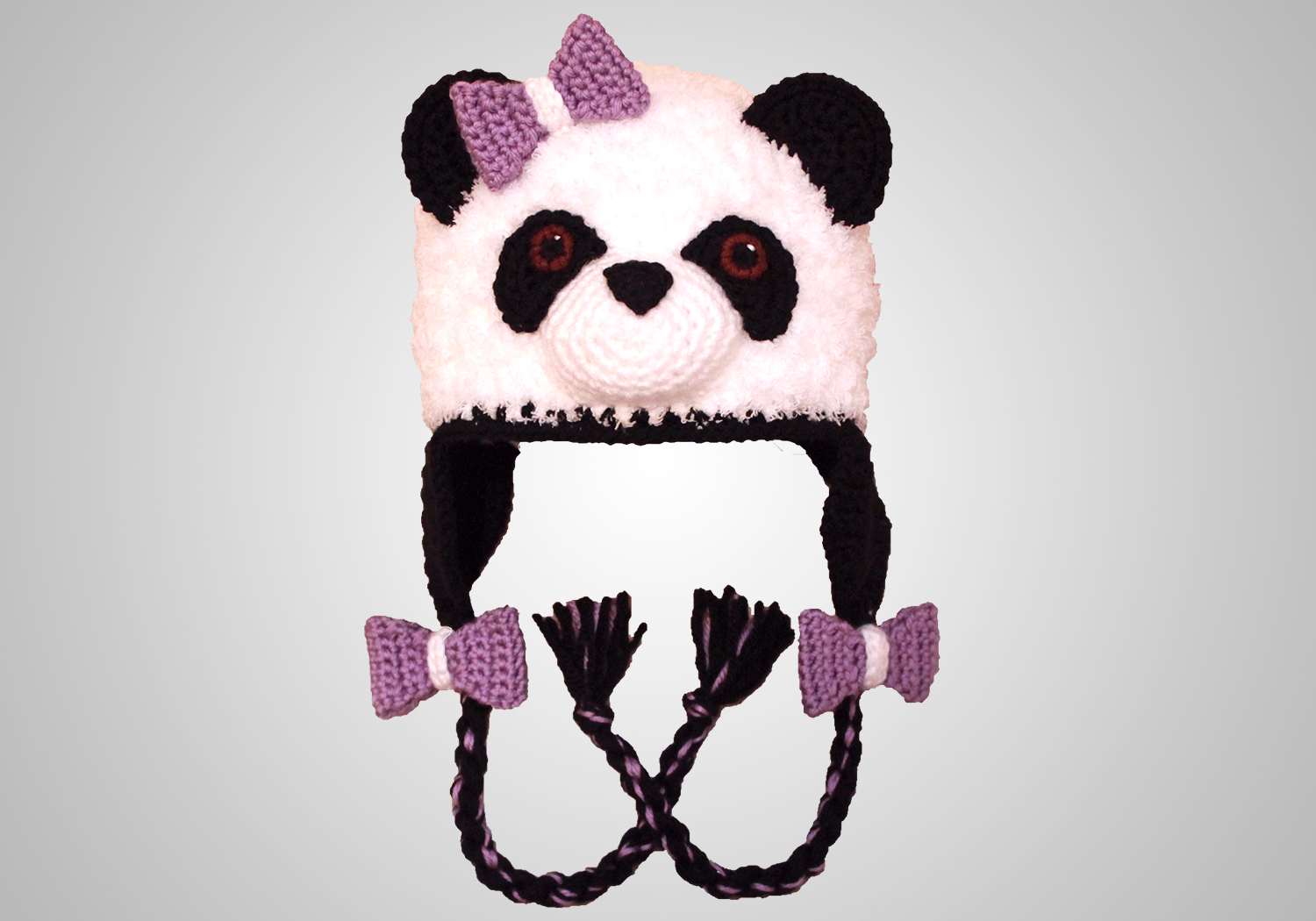 Girls Panda Hat Pattern