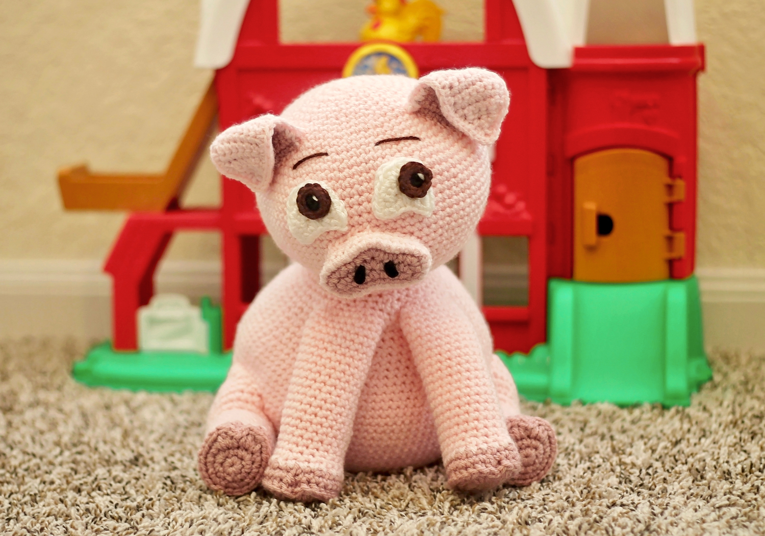 stuffed pig toy pattern