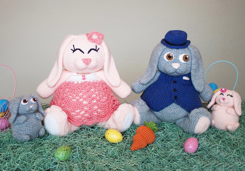 amigurumi bunny pudgy pal