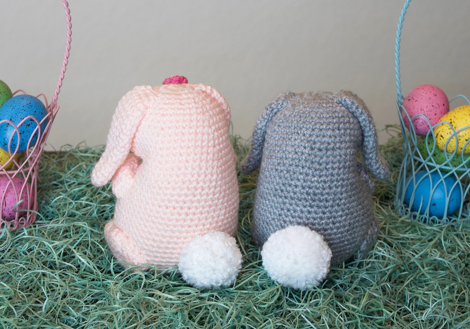 easter bunny pudgy pal pattern