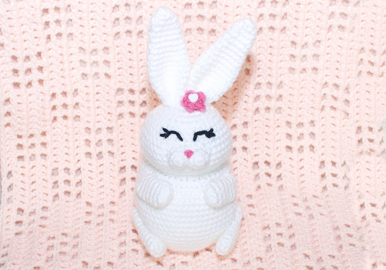 crochet amigurumi bunny pudgy pal