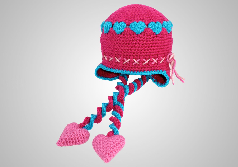 crochet valentines hat