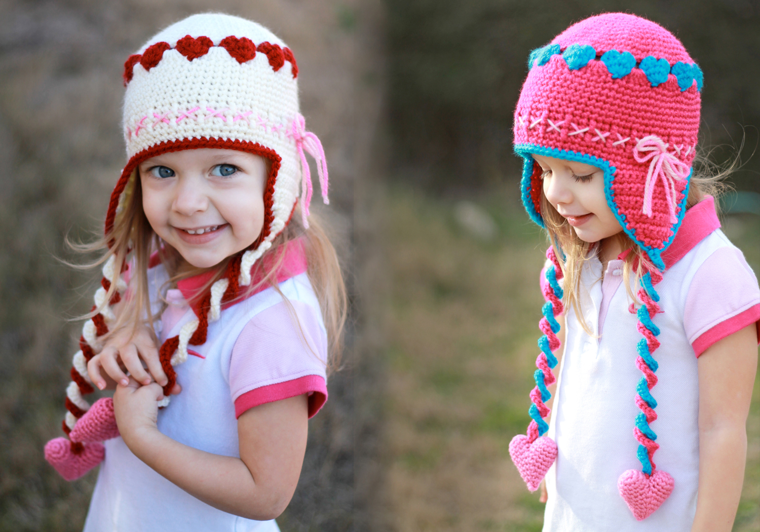 crochet sweetheart hat pattern