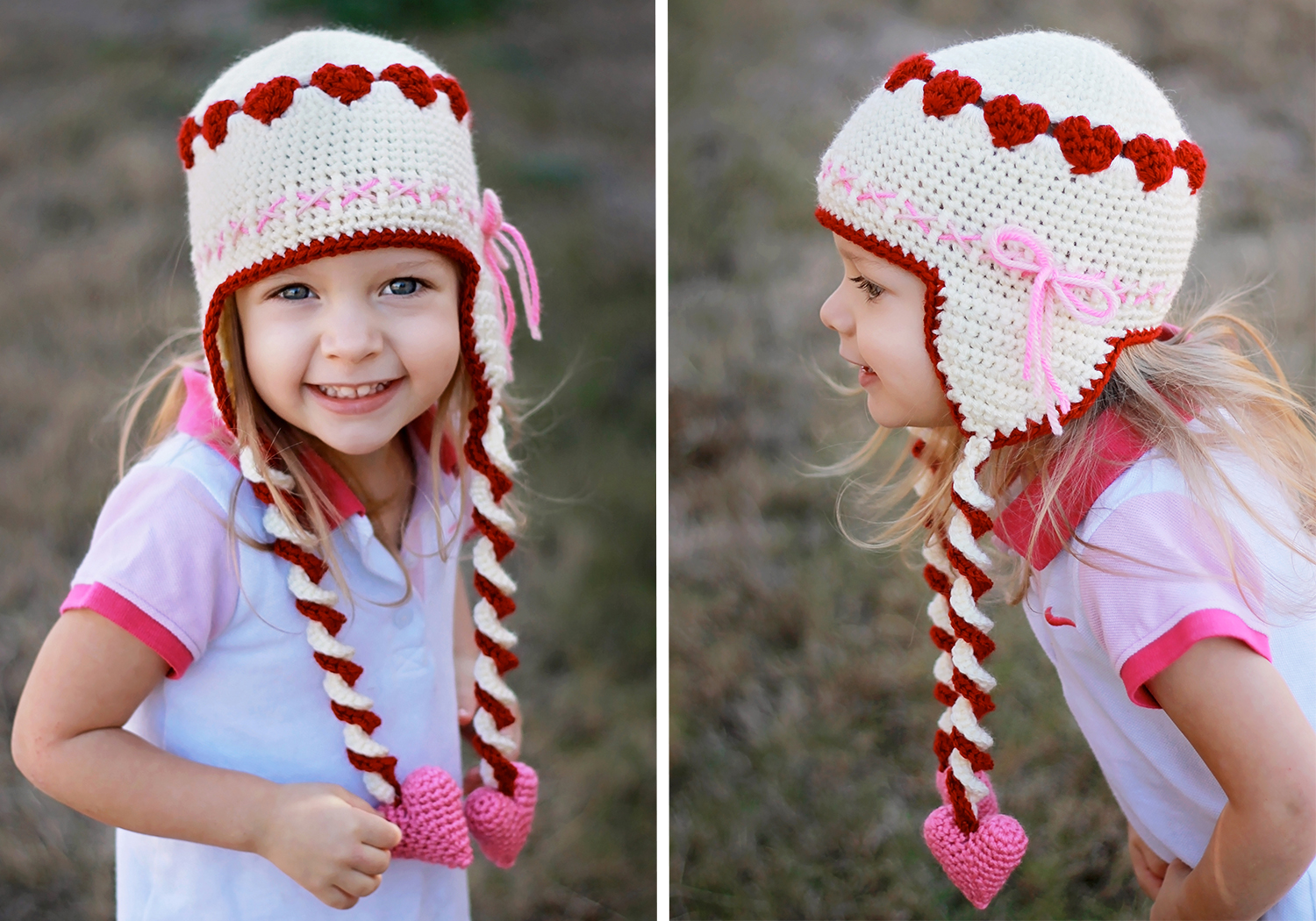 Sweetheart Hat Crochet Pattern