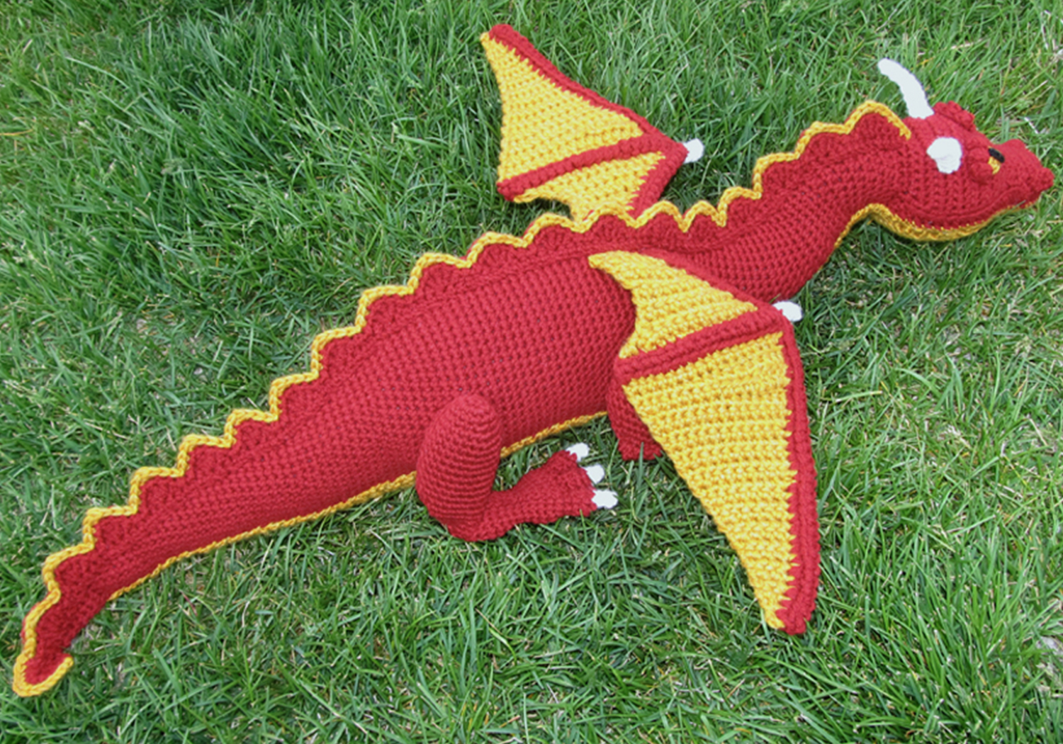 cool dragon toy pattern
