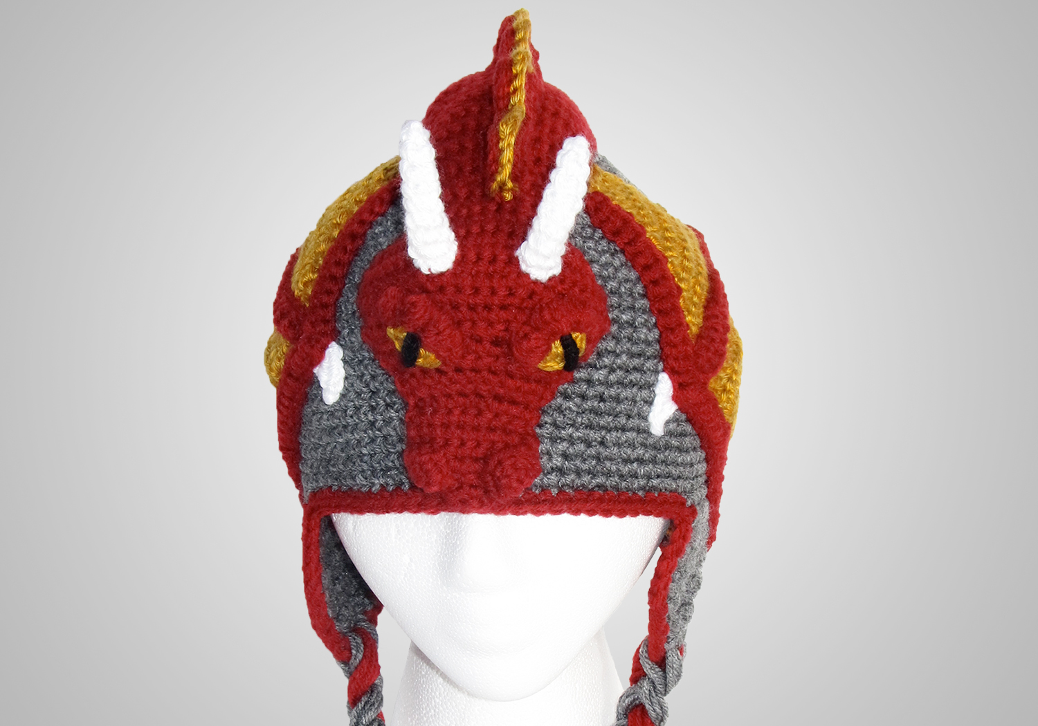 boy dragon hat pattern
