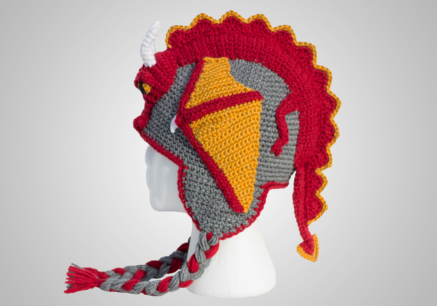 cool dragon hat pattern
