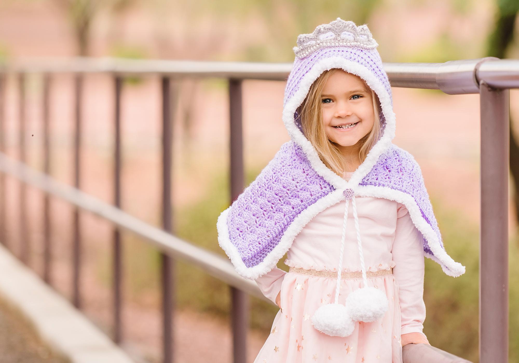 Girl Crochet Cowl Pattern