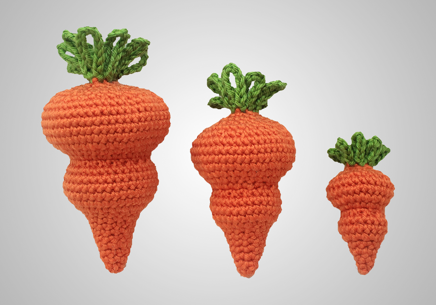 Free Cute Easter Decoration Carrot Pattern