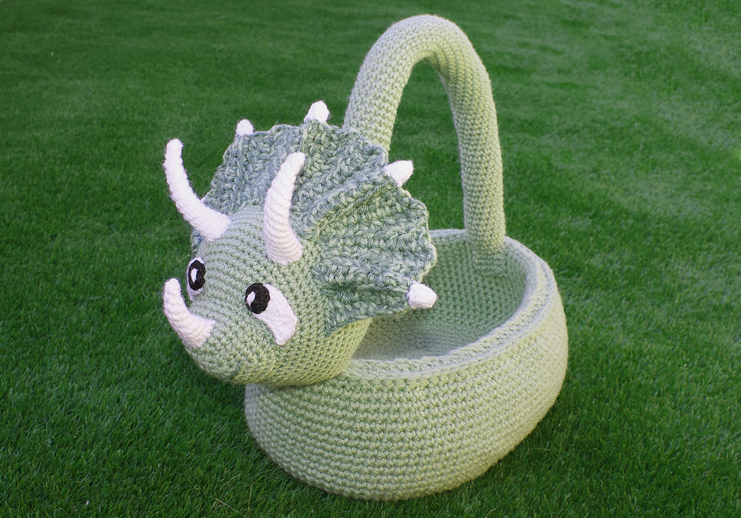 Awesome Triceratops Basket