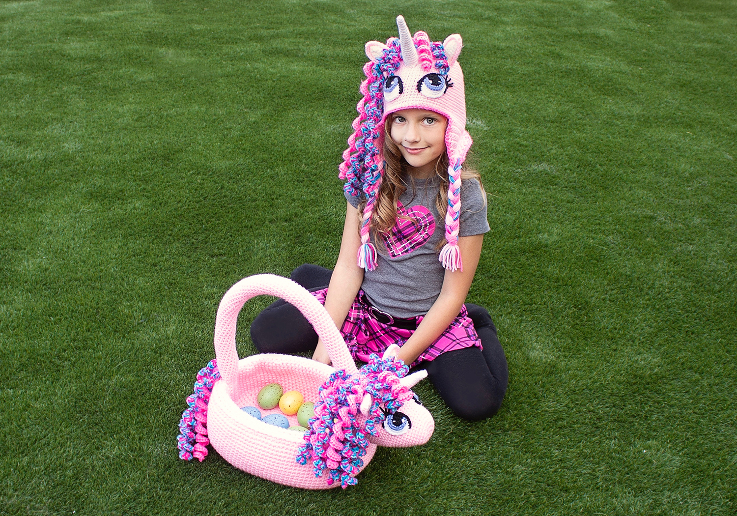 Easy Unicorn basket