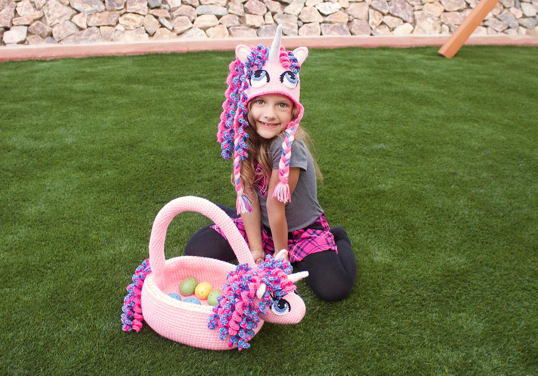 girl unicorn basket