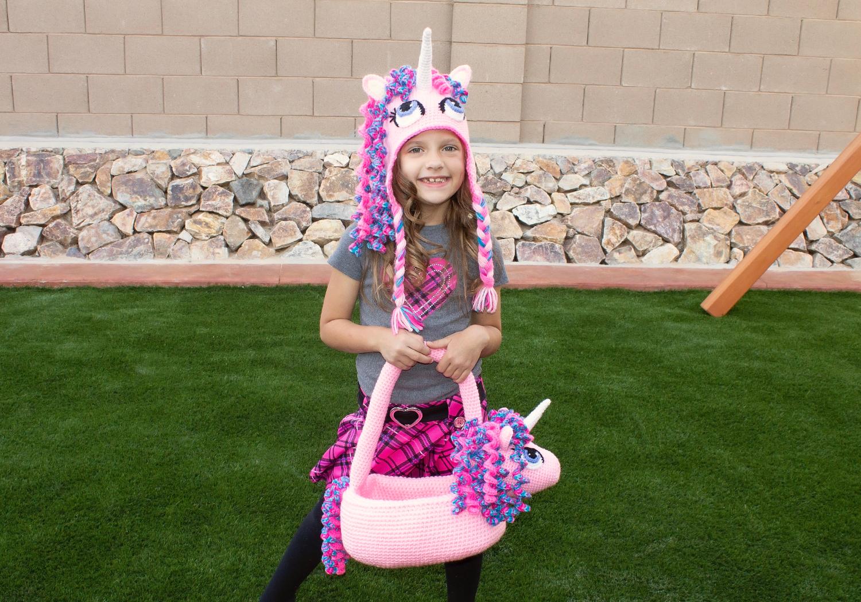 Easter Unicorn Basket Pattern