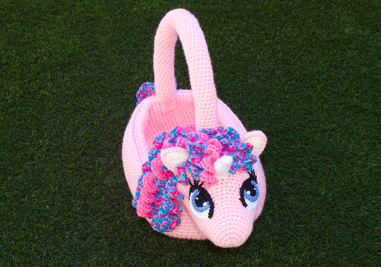 Easy Easter Unicorn Basket