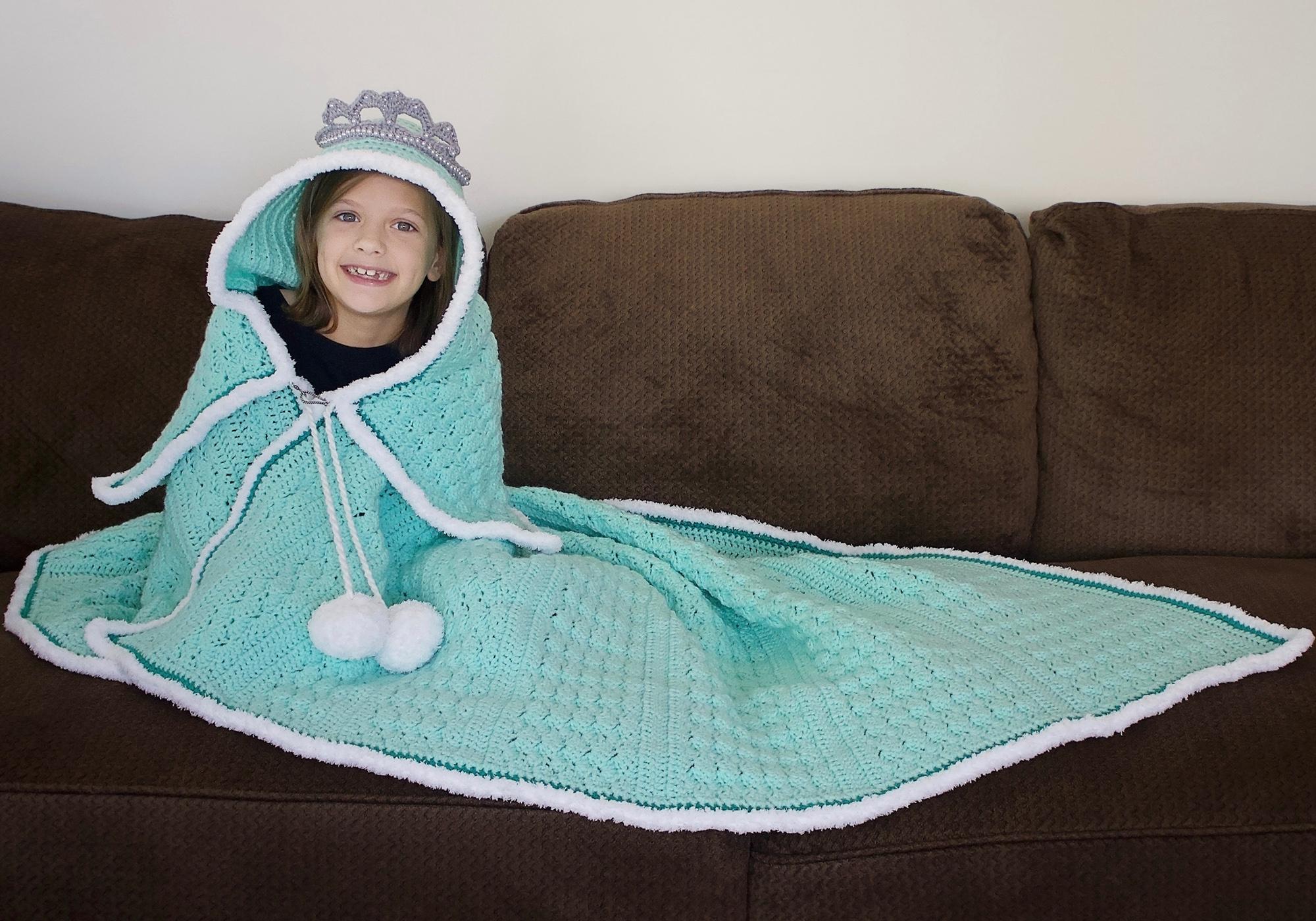 Beautiful Hooded Princess Afghan