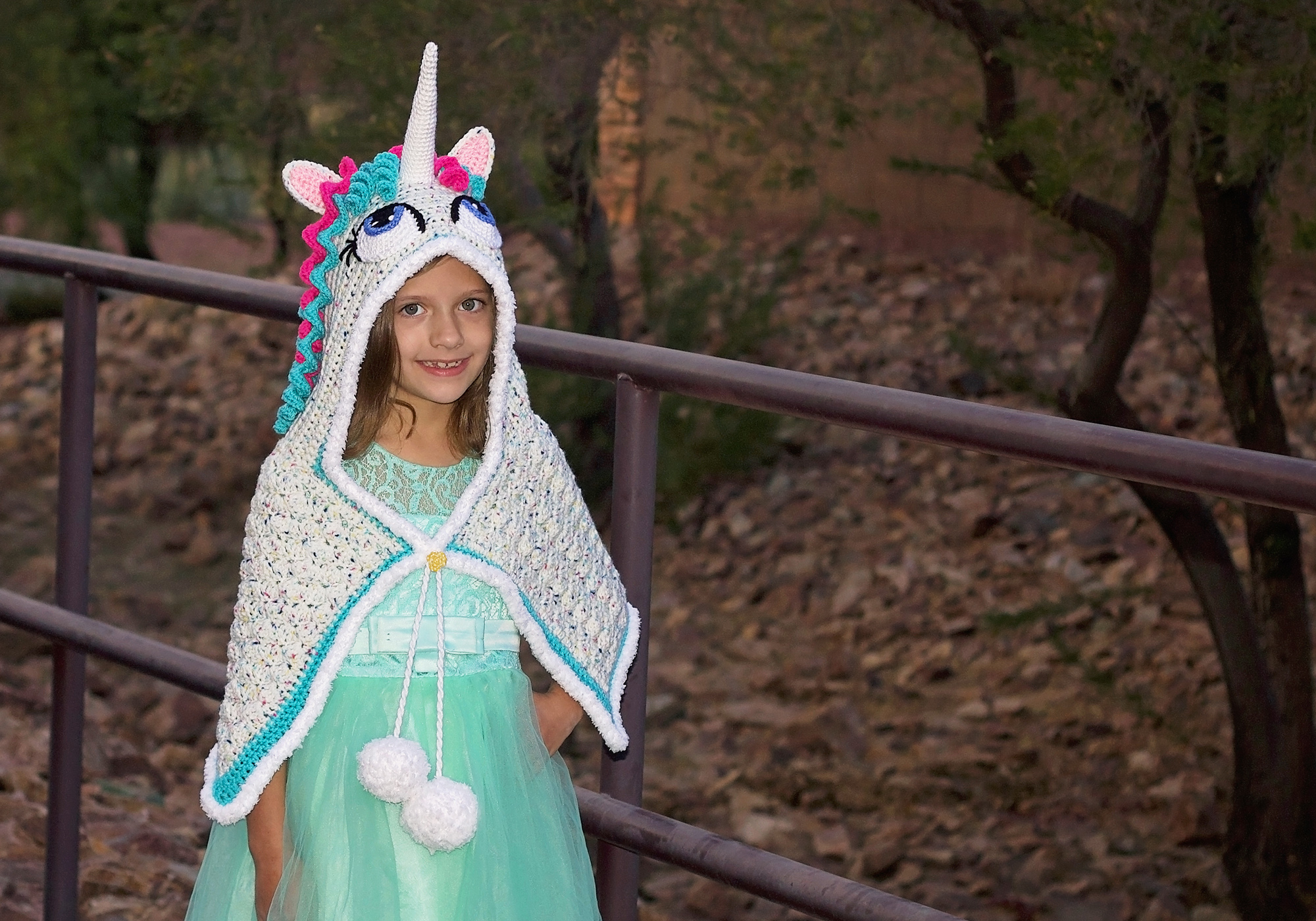 Crochet Unicorn Shawl Pattern