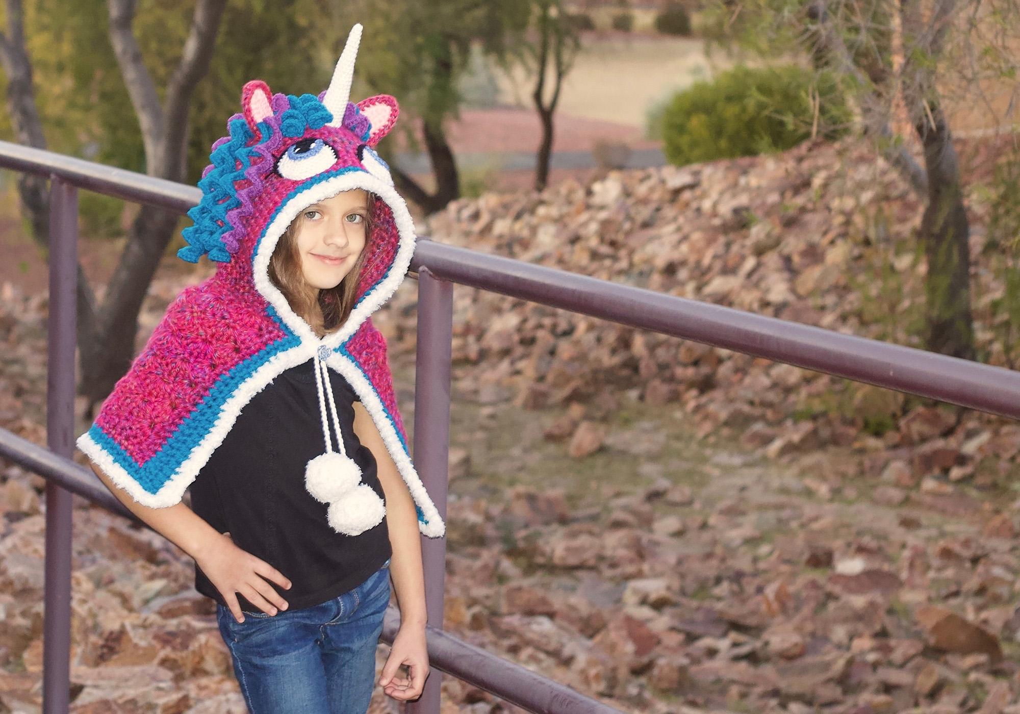Beautiful Unicorn Shawl