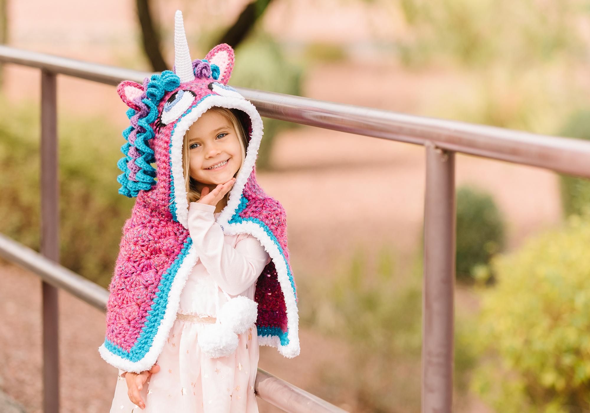 Crochet Unicorn Cowl Pattern