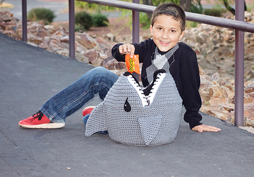 Crochet Shark Bag Pattern
