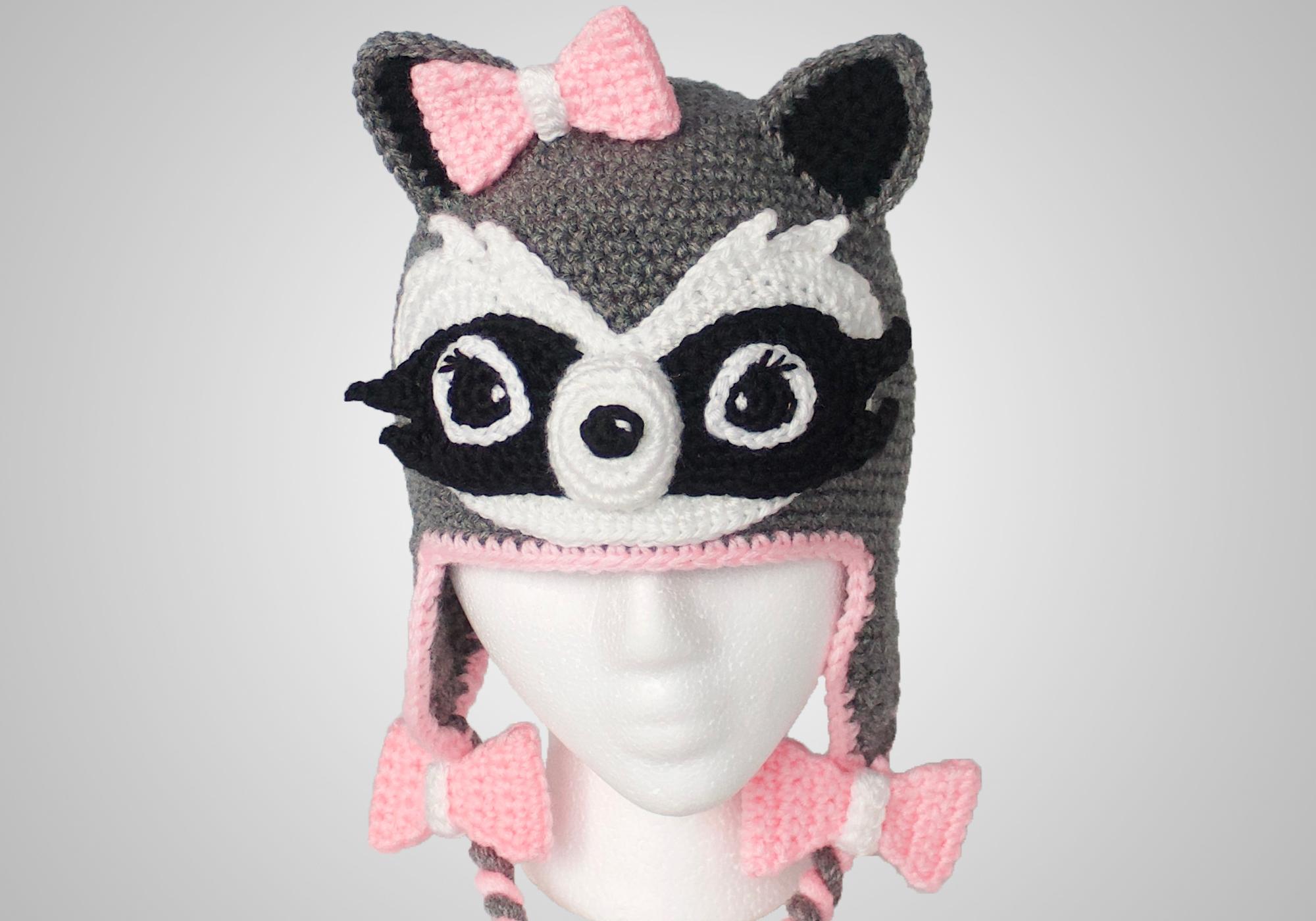 Girl Raccoon Hat