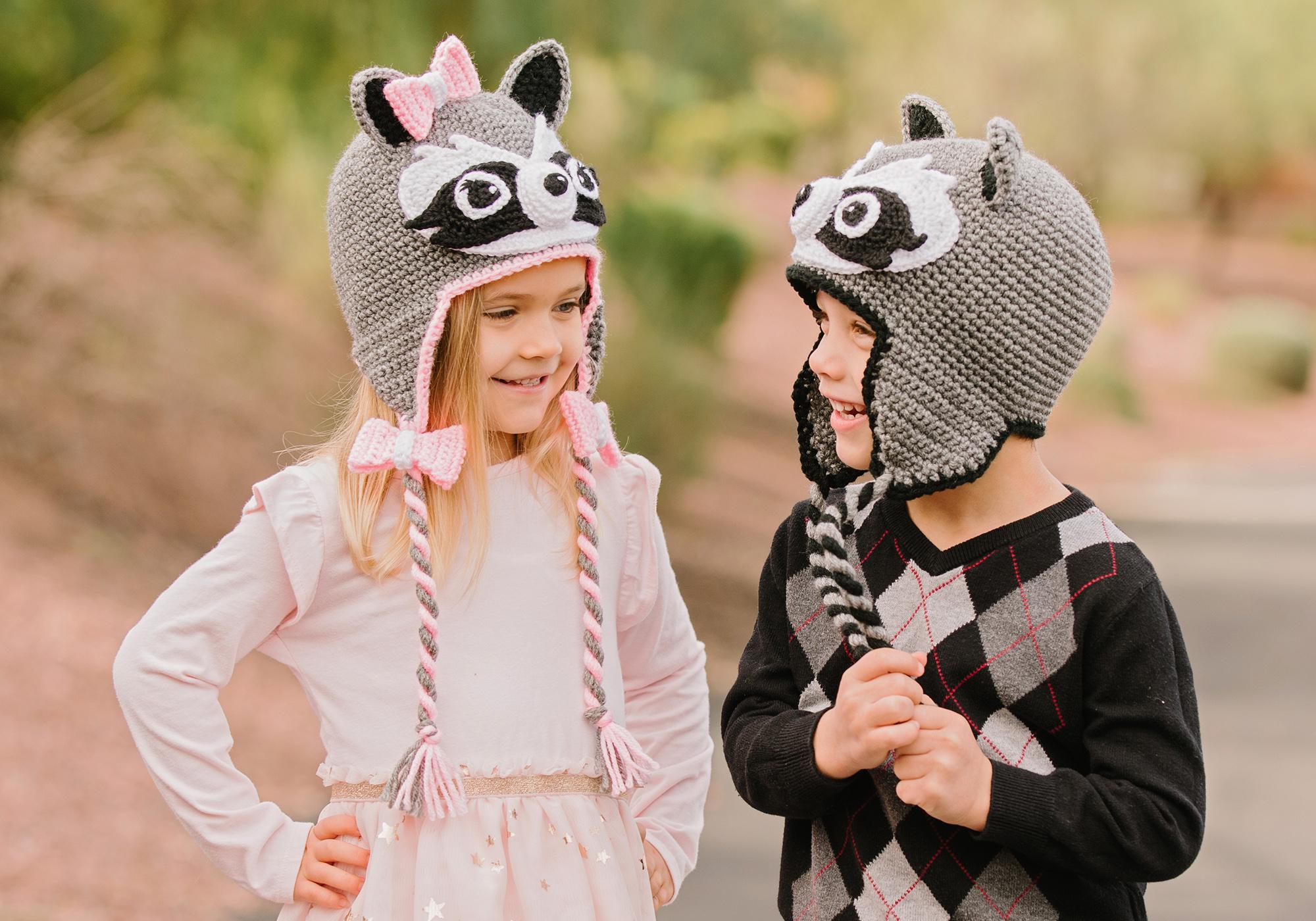Cute Raccoon Crochet Pattern