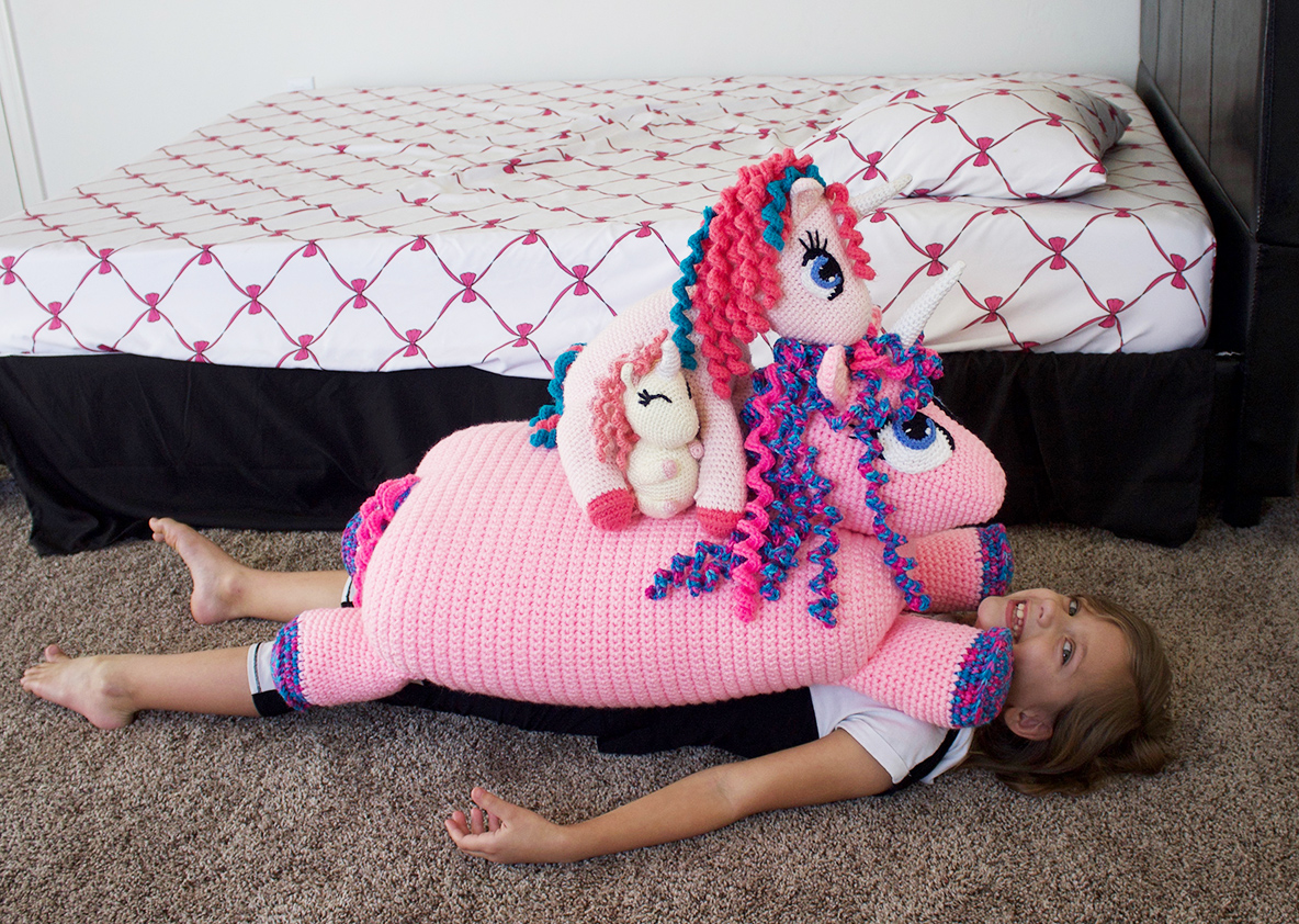 Crochet Unicorn Home Decor