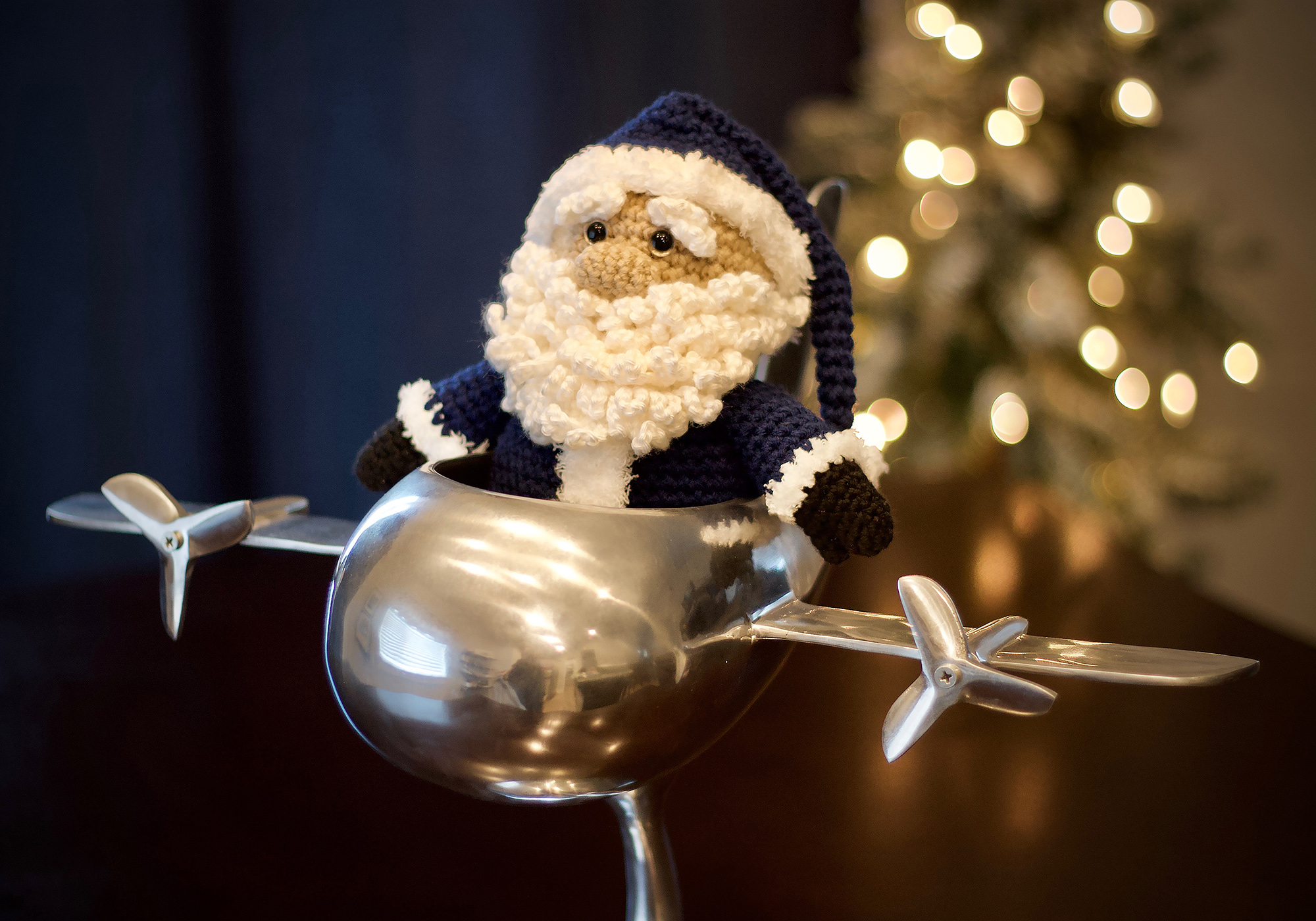 Crochet Santa Amigurumi