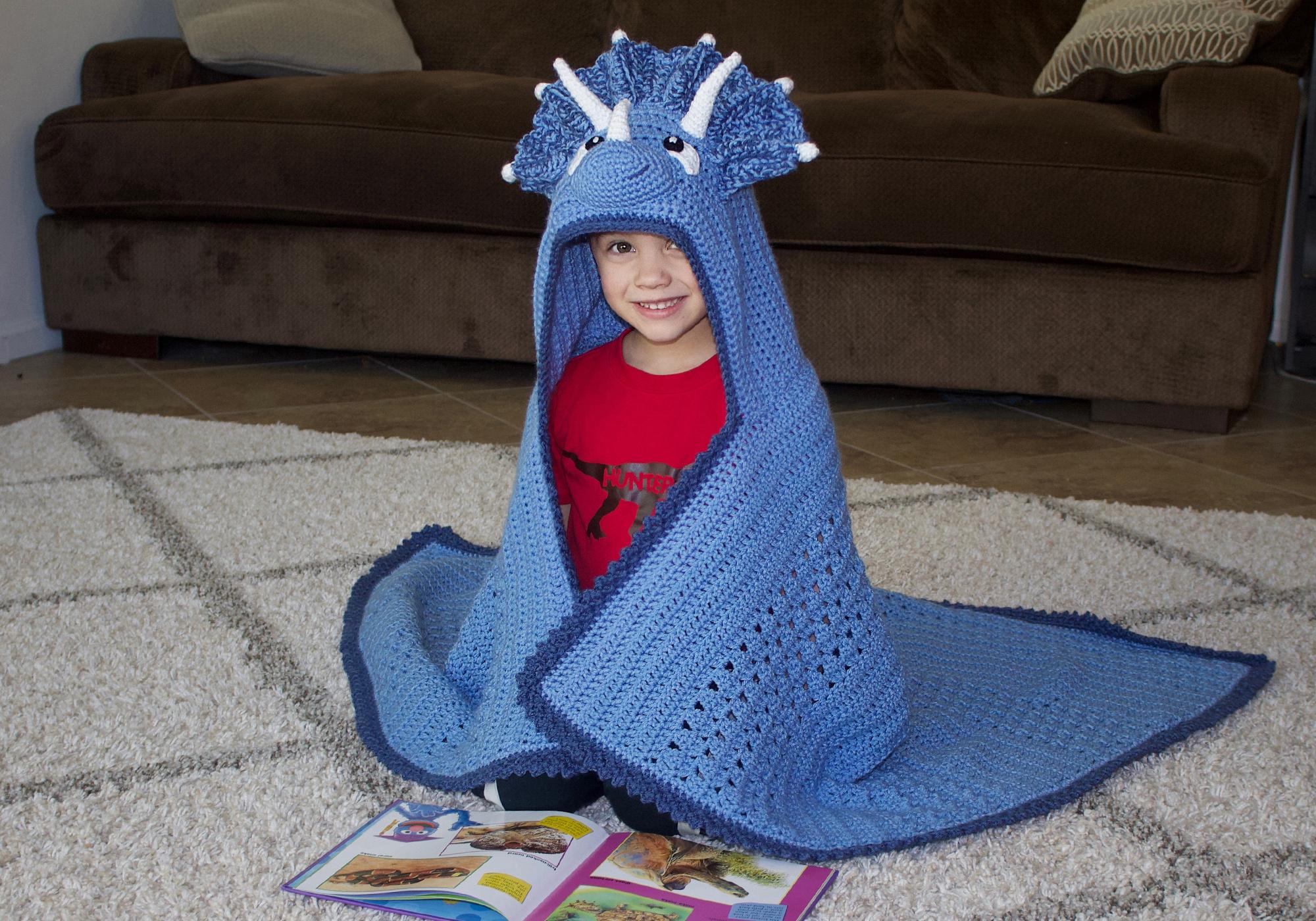 Boy Dinosaur Blanket