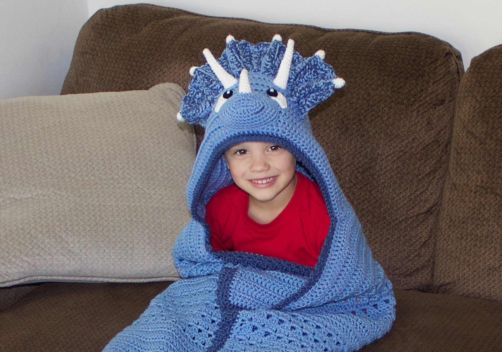Hooded Boy Blanket