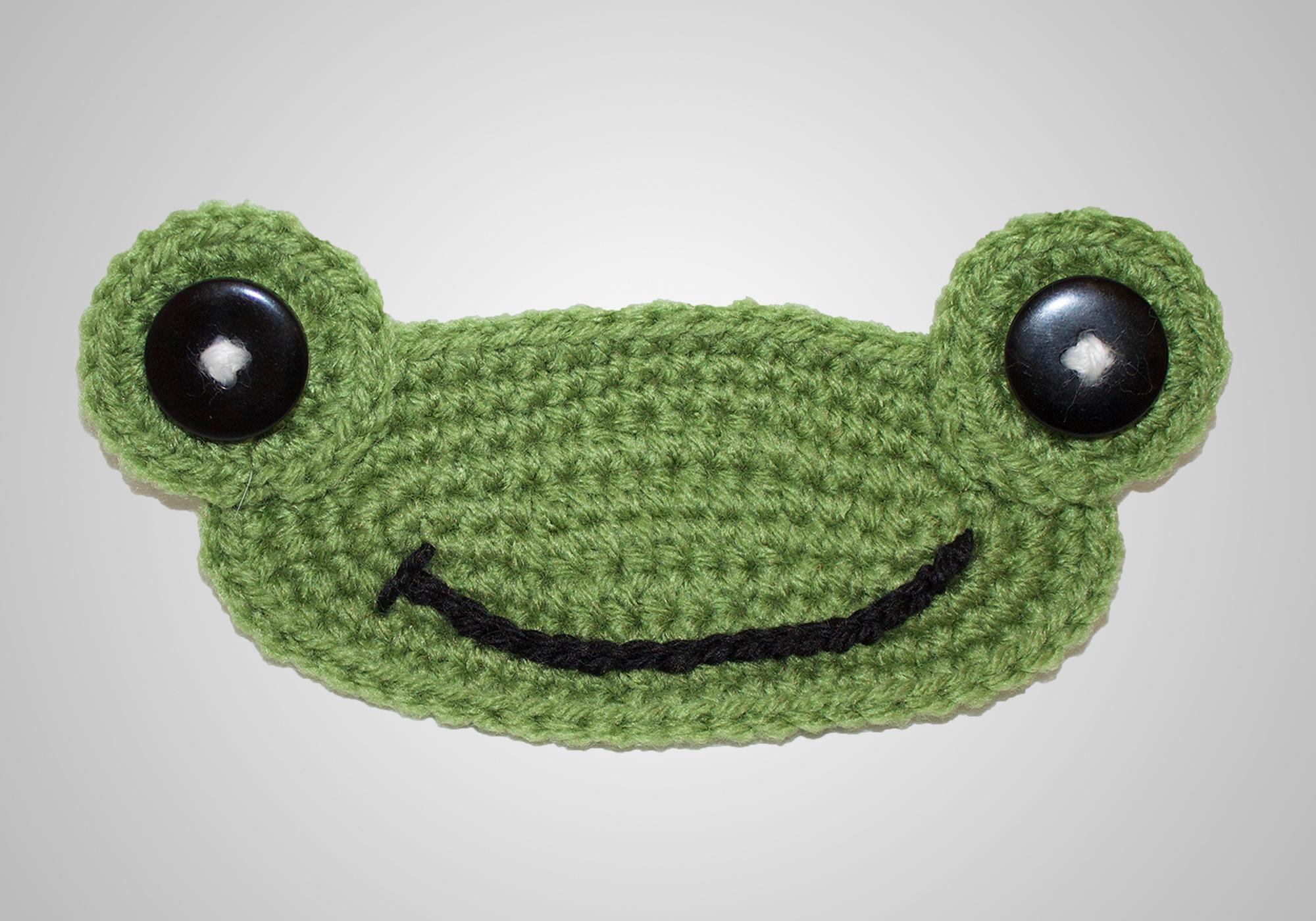 Crochet Frog Mask Mates