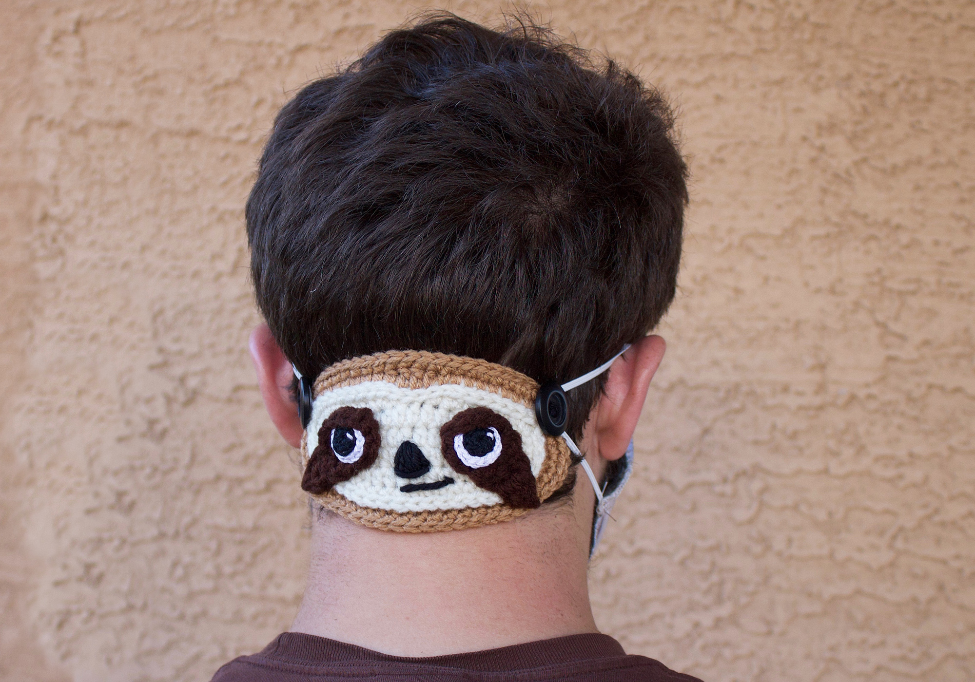 Crochet Sloth Ear Protector