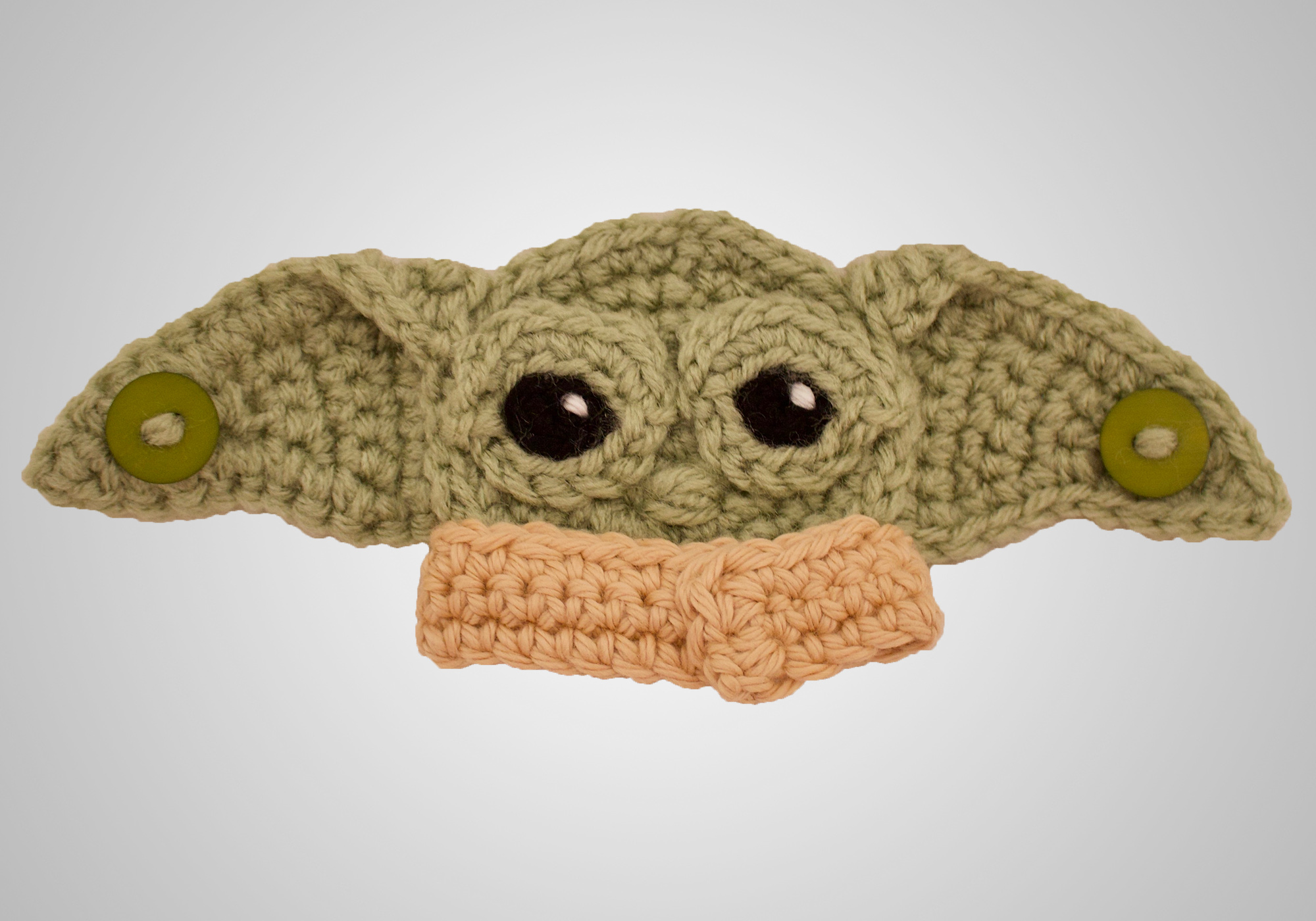 Baby Alien Crochet Ear Saver