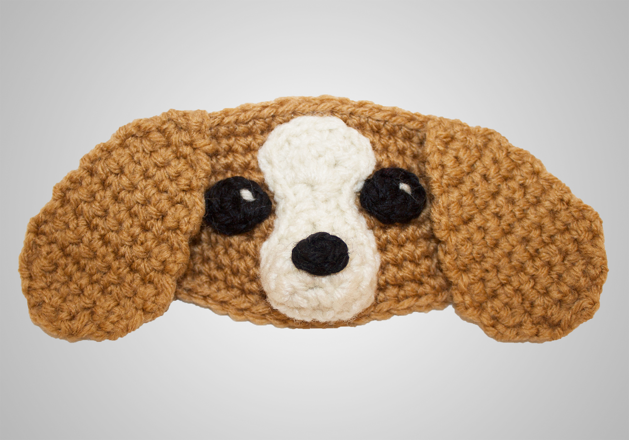 Cute Spaniel Mask Elastic Holder