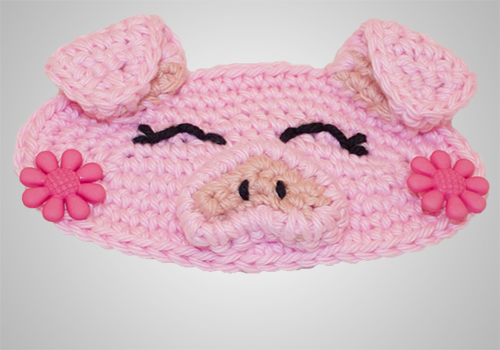 Crochet Piggy Mask Mates
