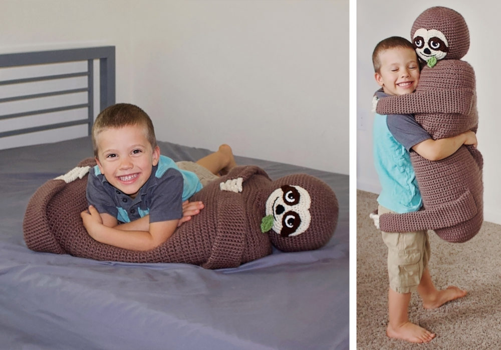 Sloth Toy Crochet Pattern