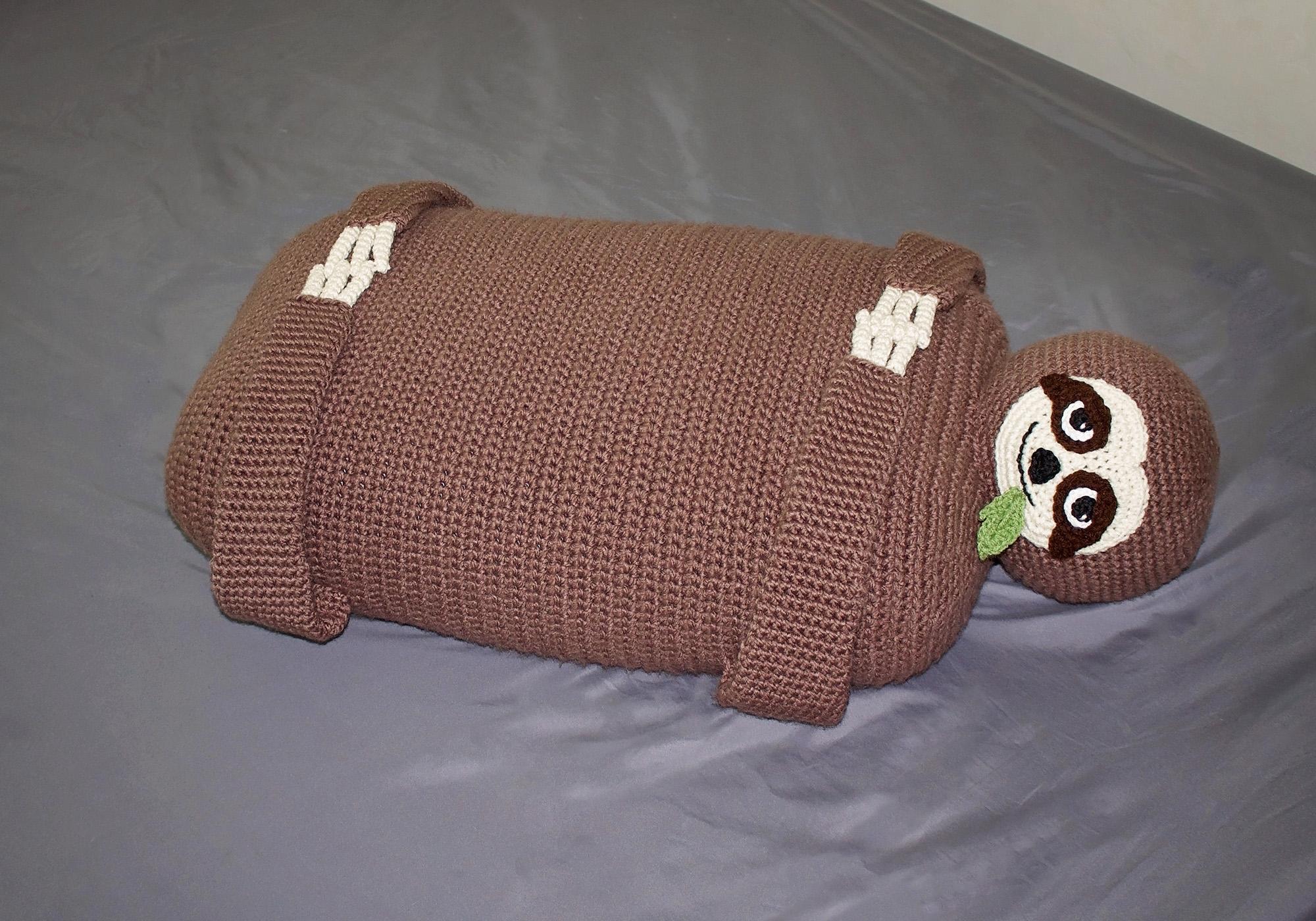 kids sloth pillow
