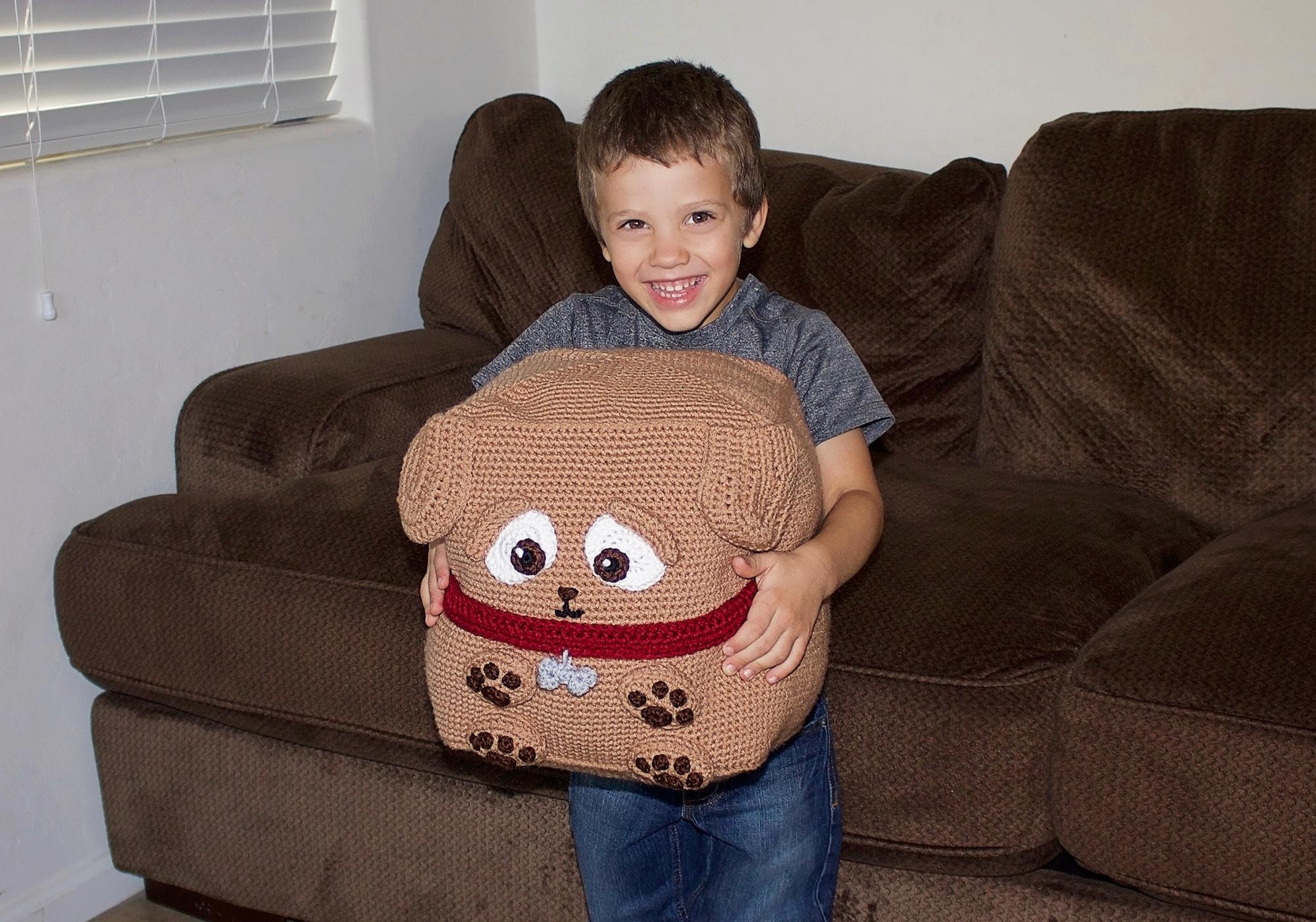 Crochet Toy Puppy