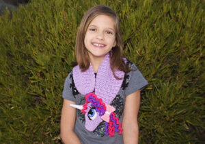 Kids Animal Scarf