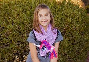 Easy Unicorn Scarf